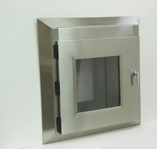 stainless steel wall mount box with door