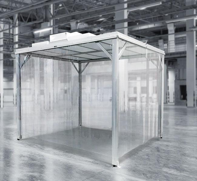 softwall enclosure