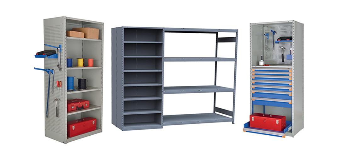 illustration of lab cabinetry